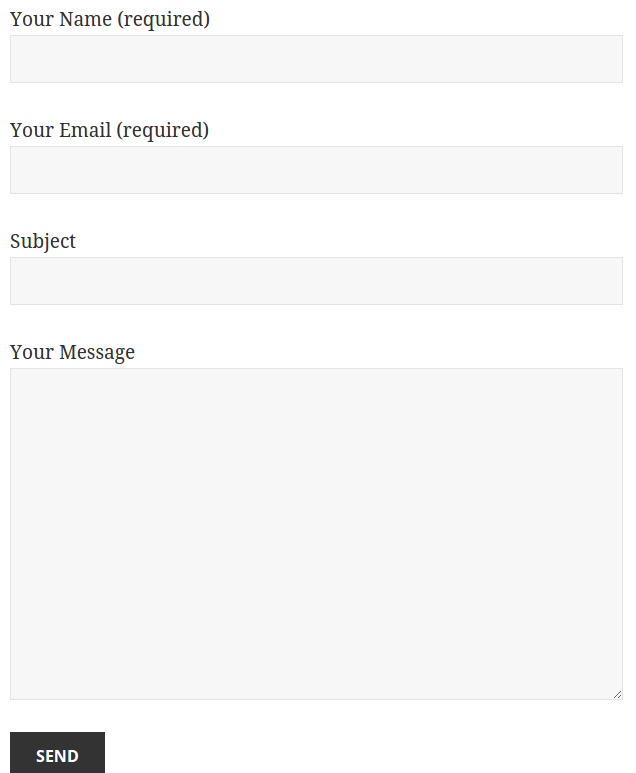 Contact Form 7 vs Simple HTML Form - GeoDirectory