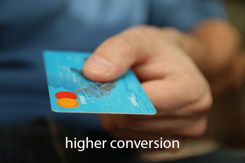 higer-conversion