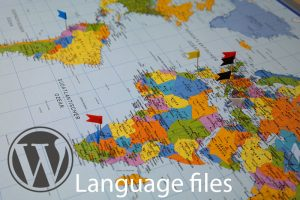 wordpress language files