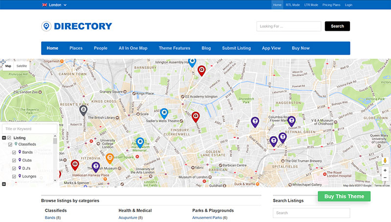 WordPress Directory Theme, what's the best [updated 2019