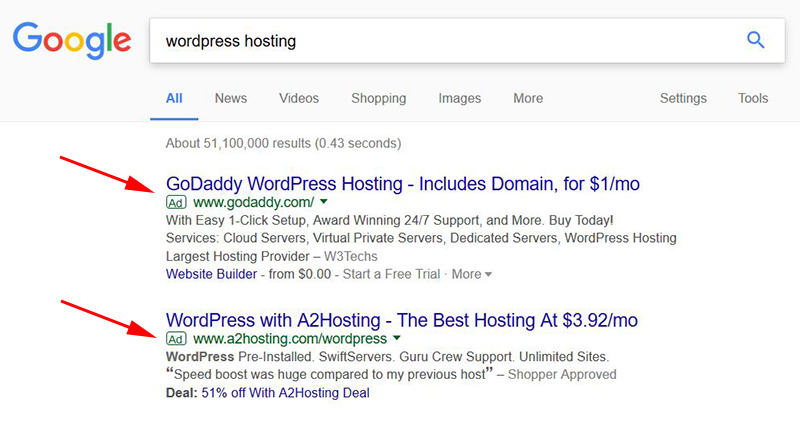 wordpress hosting seo